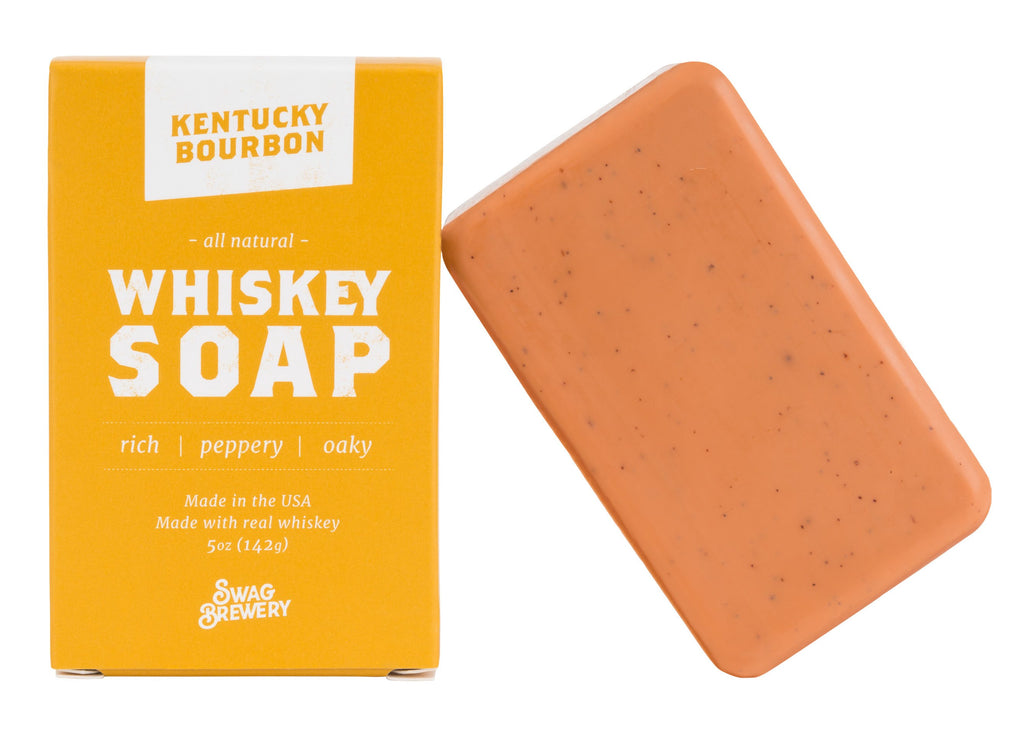 Boozy Soap: Whiskey - A Cut Above Boutique