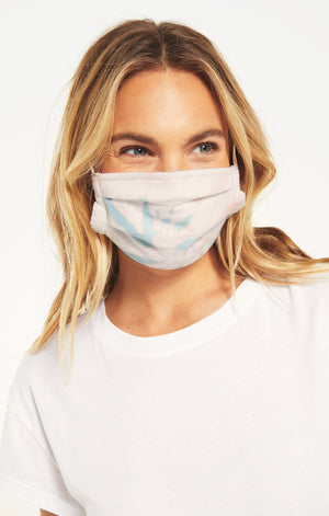 Z Supply Face Mask (2 pack) - Tie Dye + Heather Grey - A Cut Above Boutique