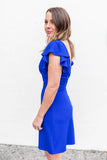 Royal Times Ruffle Dress - A Cut Above Boutique