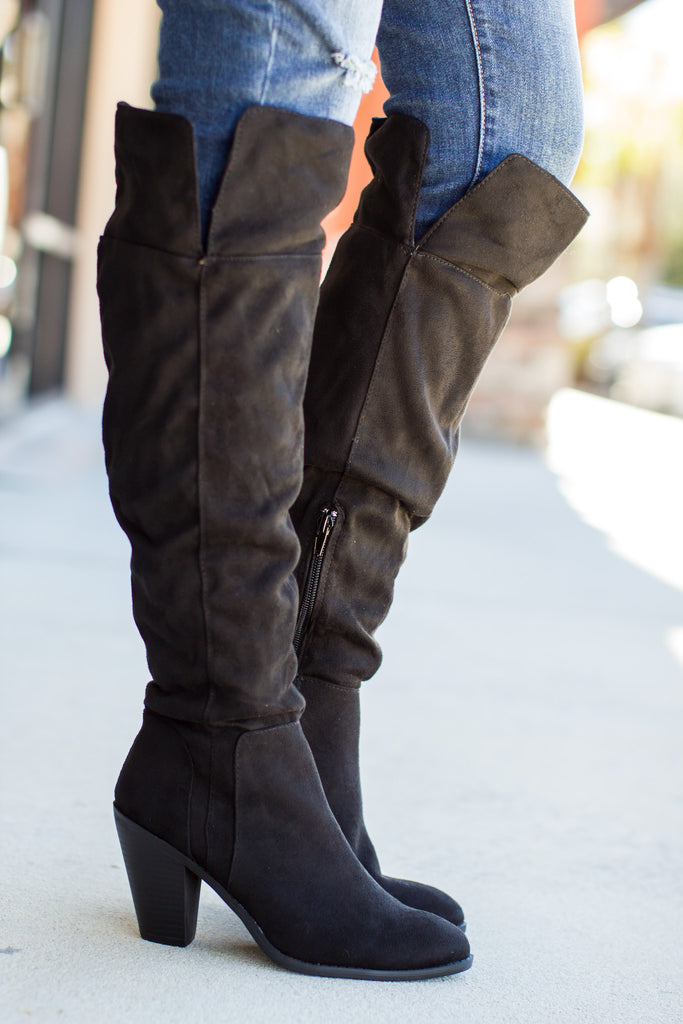 Raised On It Boot - Black - A Cut Above Boutique
