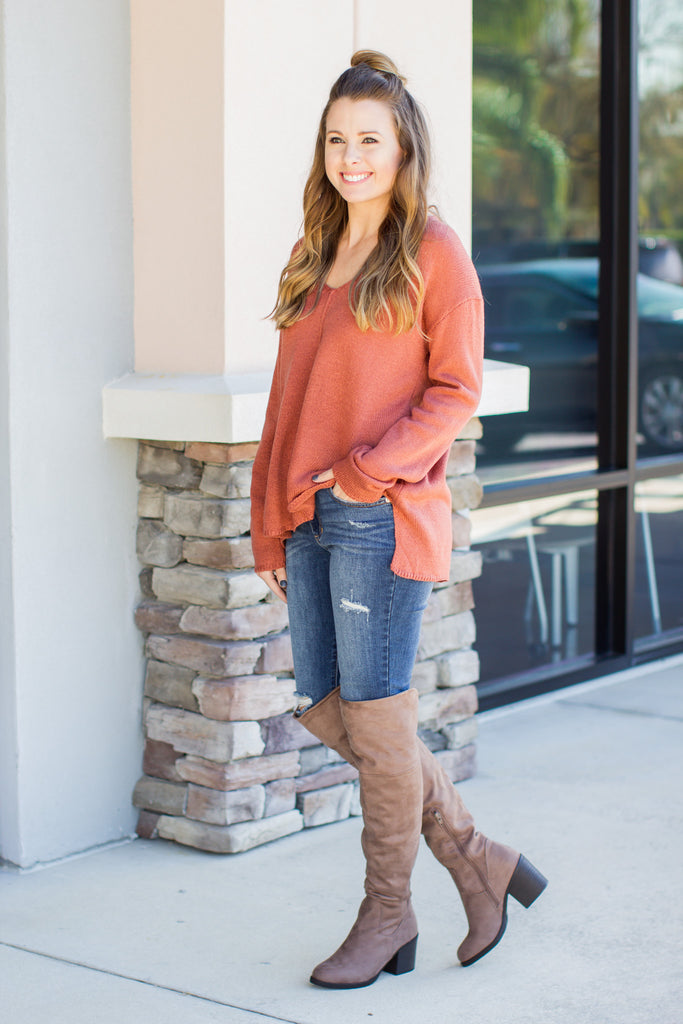 Look Around Boot - Taupe - A Cut Above Boutique