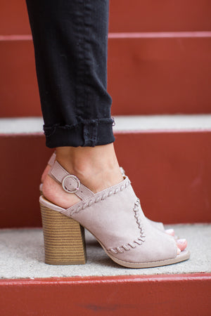 To You Peep Toe Heel - A Cut Above Boutique