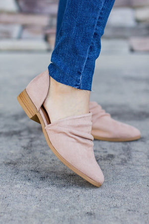 Ballerina Cut-Out Bootie - A Cut Above Boutique