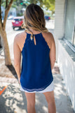 Scallop Tank - Navy
