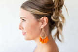 Get Me Fringe Earring (Multiple Colors) - A Cut Above Boutique