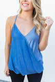 Mixed Feelings Cami - Chambray