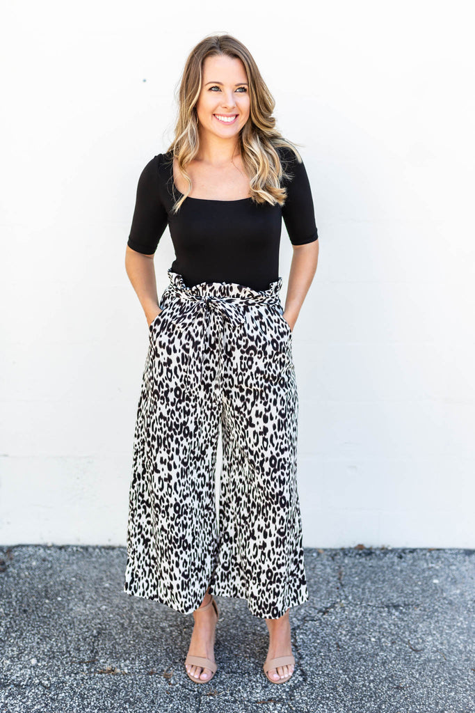 Puurrfect High Waisted Leopard Pants