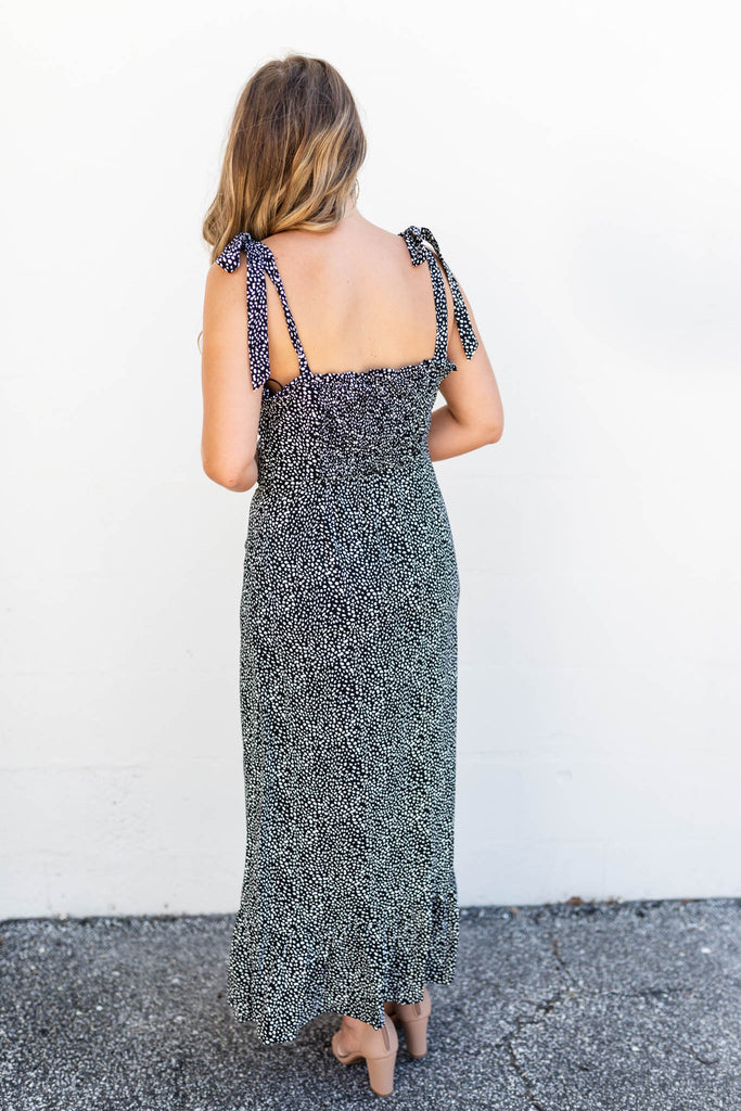 Like The Dot Or Not Midi Dress - A Cut Above Boutique