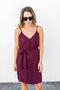 Wine And Dine Tank Dress