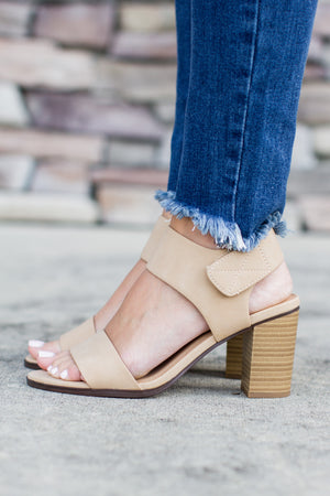 All Year Open Toe Heel - Nude - ShopACutAbove