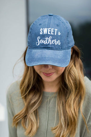 Sweet + Southern Baseball Hat - A Cut Above Boutique