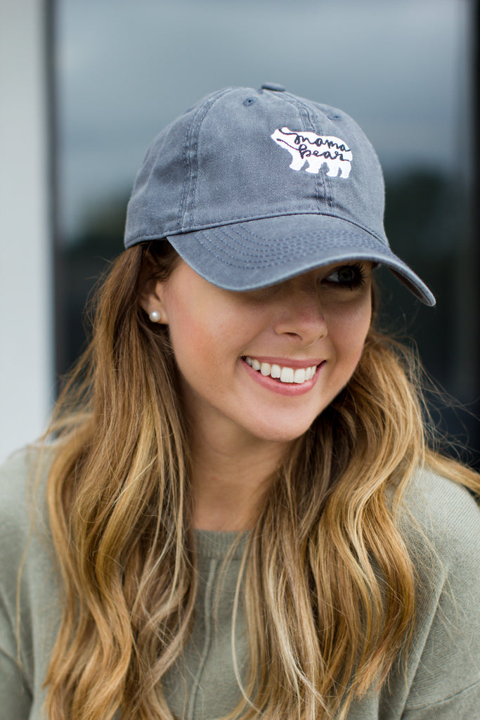 Mama Bear Baseball Hat - A Cut Above Boutique