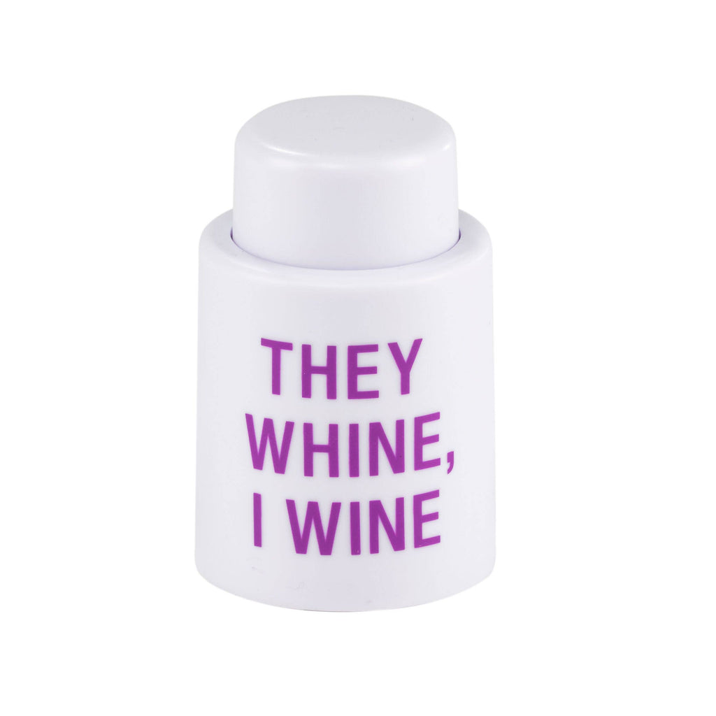 They Wine Wine Stopper - A Cut Above Boutique