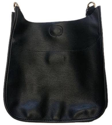 AHDORNED - Soft Faux Leather Classic Messenger- NO STRAP ATTACHED