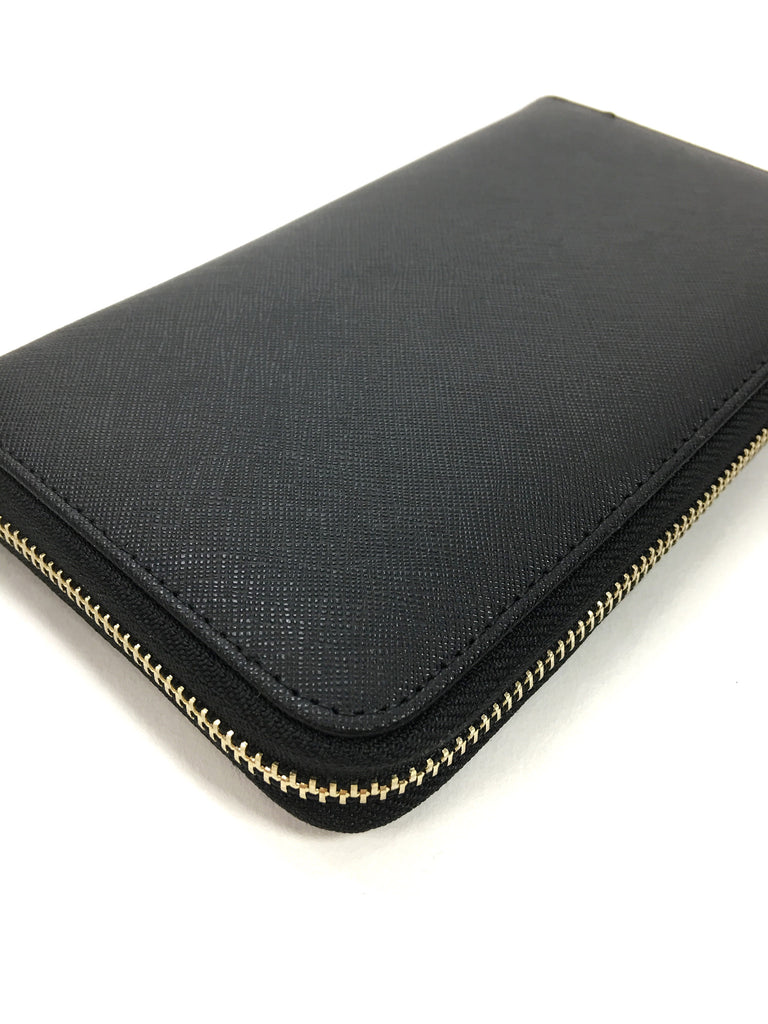 Classic Zip Wallet - Black - A Cut Above Boutique