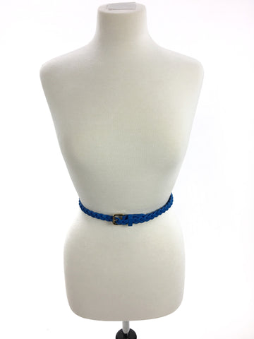 Got The Blues Braided Belt - A Cut Above Boutique