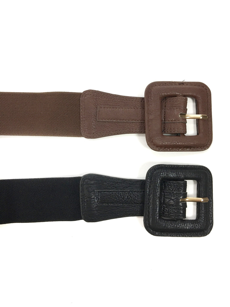 Wide Stretch Belt - A Cut Above Boutique