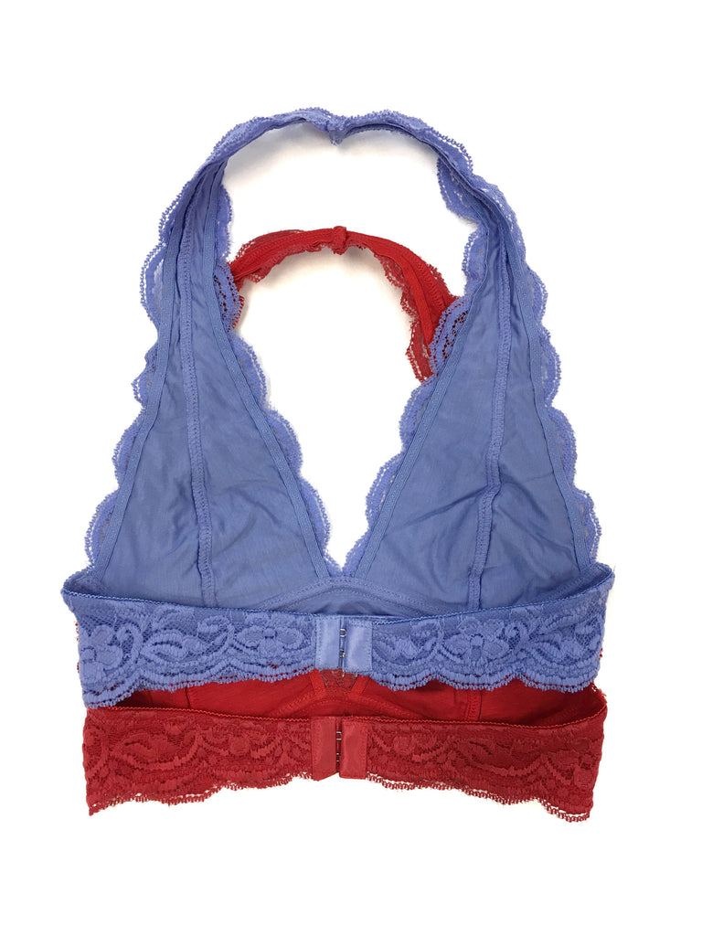 Halter Lace Bralette (multiple colors) - A Cut Above Boutique
