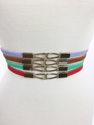 Clinched Interlocking Belt - A Cut Above Boutique