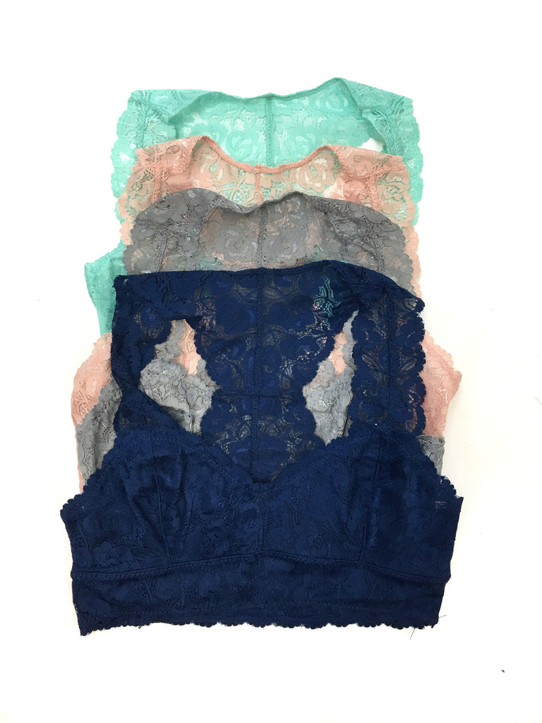 Lace Bralette (multiple colors) - A Cut Above Boutique