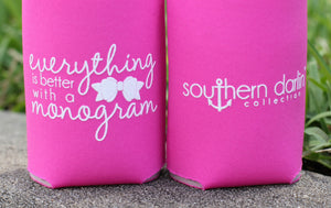 SD Koozie: Monogram - A Cut Above Boutique