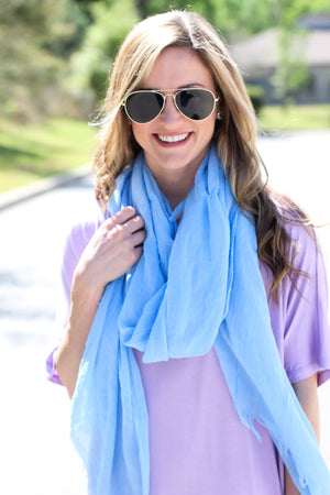West Coast Scarf – Blue - ShopACutAbove