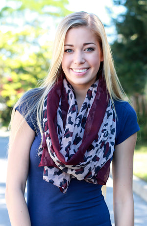 Make It Mine Scarf – Berry - A Cut Above Boutique