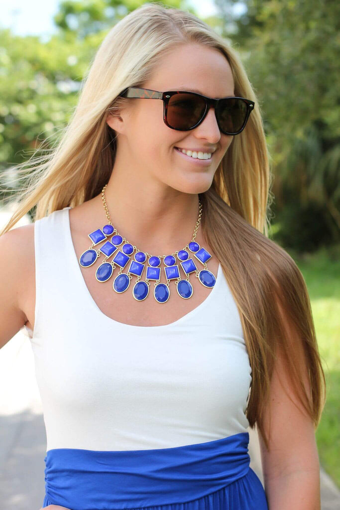 Queen Of Jewels – Blue - A Cut Above Boutique