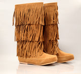 3 Layer Fringe Boot