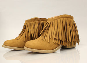 Spotlight Booties - Tan - ShopACutAbove