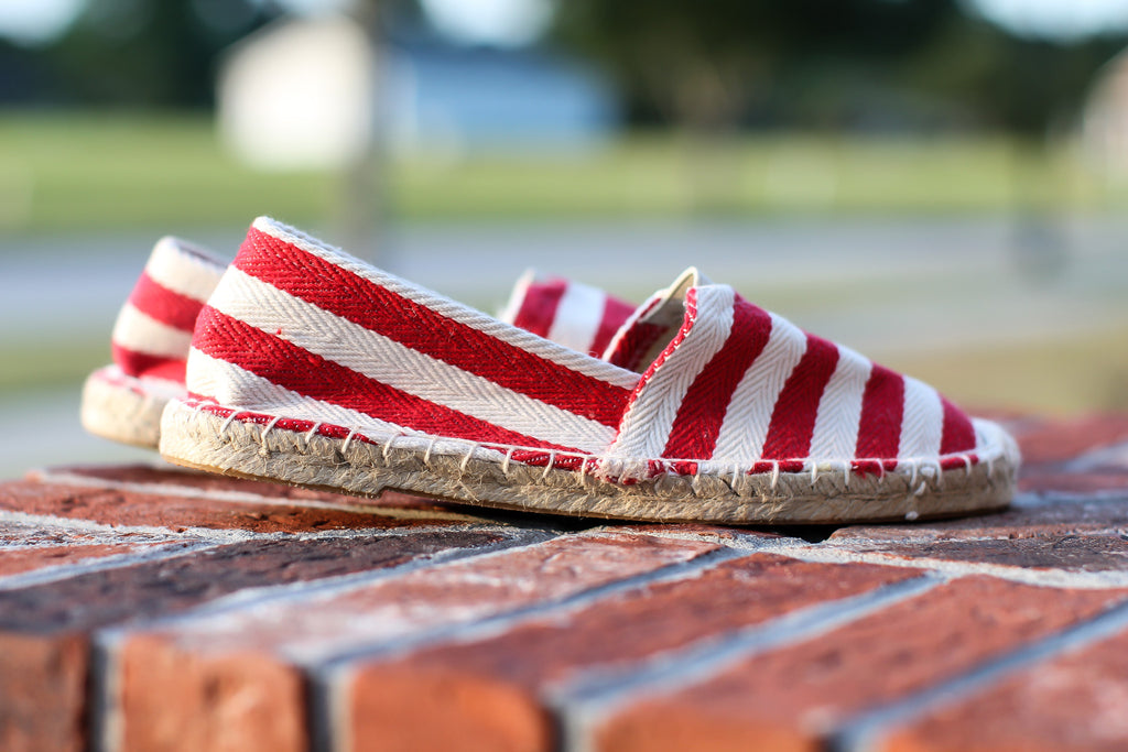 Sailor Espadrilles - A Cut Above Boutique