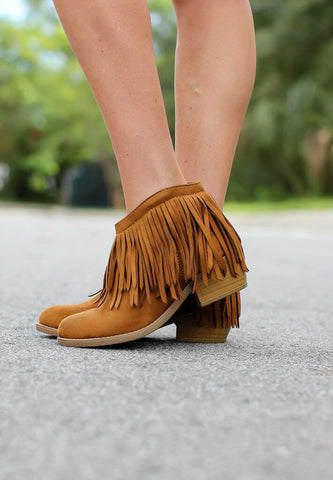 Spotlight Booties - Tan