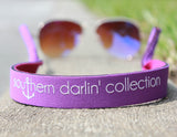 Southern Darlin' Sunglass Strap - Purple - A Cut Above Boutique