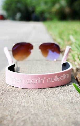 Southern Darlin' Sunglass Strap – Light Pink