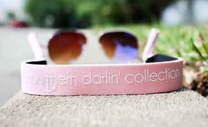 Southern Darlin' Sunglass Strap – Light Pink - A Cut Above Boutique