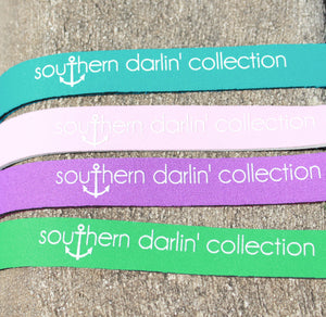 Southern Darlin' Sunglass Strap –  Kelly Green - A Cut Above Boutique