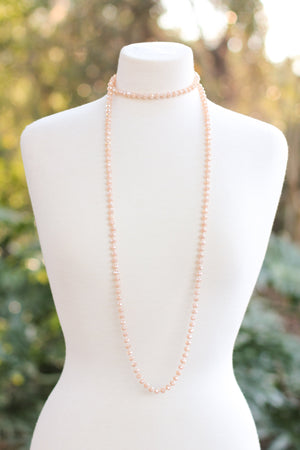 I've Got A Blush On You Necklace - A Cut Above Boutique