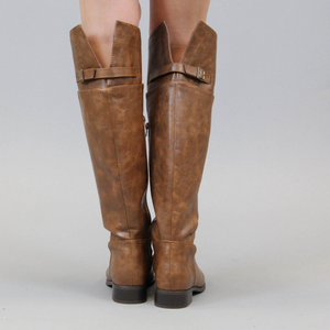 Saddle Up Rider Boots – Tan - A Cut Above Boutique