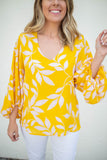 Be My Sunshine Blouse - A Cut Above Boutique