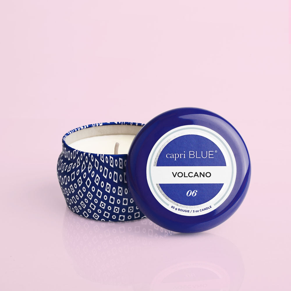 Volcano Blue Mini Tin, 3 oz - A Cut Above Boutique
