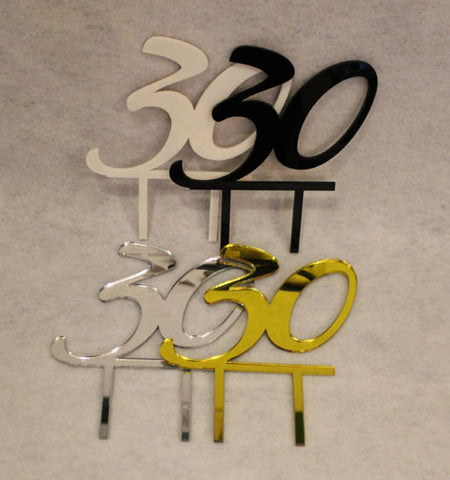Birthday Cake Toppers - 30 - Assorted Colors
