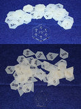 "Mylar 3/8"" Starpoint & 3/4"" Hexagon -102 Piece Set - Quilting / Sewing Templates"