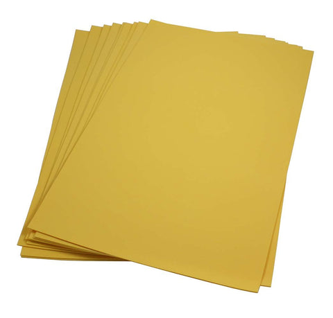 Craft Foam Sheets--12 x 18 Inches - Goldenrod - 5 Sheets-2 MM Thick
