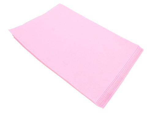 Fiesta Felt- 12x18- 10 Pieces- 100% Acrylic- Shocking Pink
