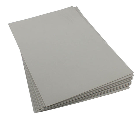 Craft Foam Sheets--12 x 18 Inches - Light Gray - 5 Sheets-2 MM Thick