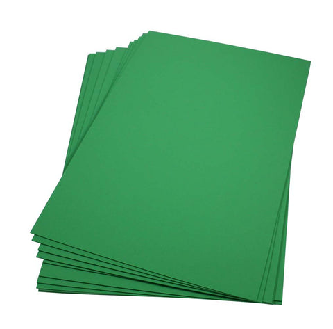 Craft Foam Sheets--12 x 18 Inches - Lime Green - 5 Sheets-2 MM Thick