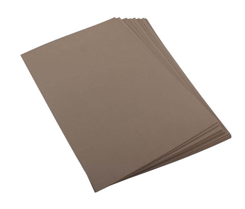 Craft Foam Sheets--12 x 18 Inches - Brown - 5 Sheets-2 MM Thick