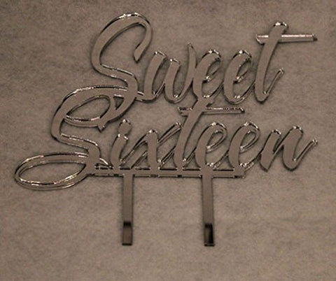 Sweet Sixteen Birthday Cake Topper