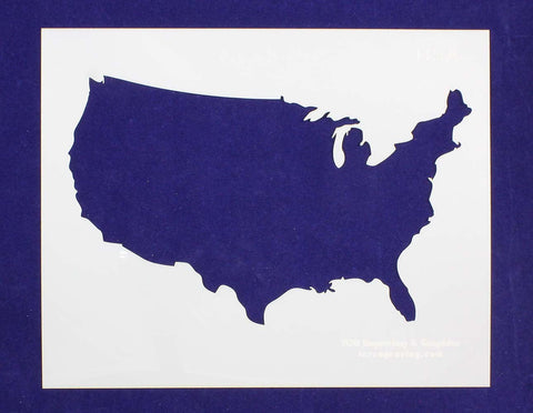 USA Stencil Stencil 14 Mil Mylar - Painting /Crafts/ Templates