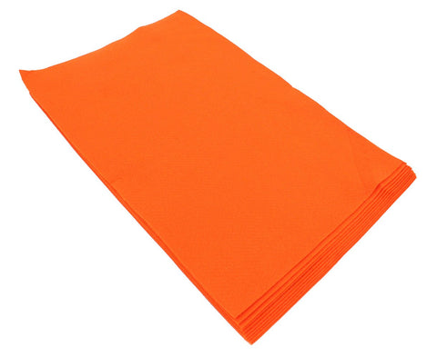 Fiesta Felt- 12x18- 10 Pieces- 100% Acrylic- Dark Orange